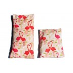 "Cushion ""Flamingos"""