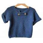 "Sweater ""Little seaman - little seawoman"""